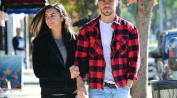 Derek Hough & Girlfriend Hayley Erbert Spotted Having A Breakfast Date