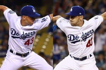 今季はドジャースでプレーした両手投げのパット・ベンディット【写真:Getty Images】