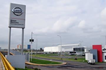 メキシコ中部アグアスカリエンテス州にある日産自動車の工場(ロイター=共同)