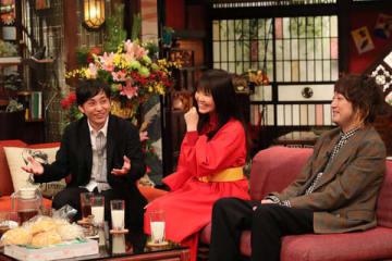 「新春大売り出し!さんまのまんま」に出演するいきものがかり=関西テレビ提供