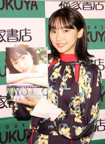フォトブック第2弾「タビレナtrip2」の発売記念イベントを行った武田玲奈さん