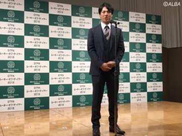 今シーズン、そして来シーズンに向けての話をした石川遼(撮影:ALBA)