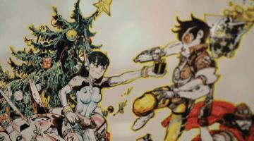 『オーバーウォッチ』キム・ジョンギ氏が見事なアートワークを描くライブドローイング映像!