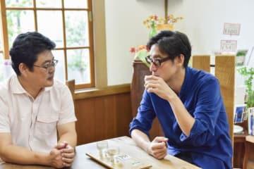左から賀茂泉酒造・4代目の前垣さん、小宮山さん