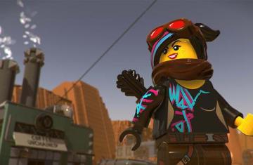 「レゴムービー2 ザ・ゲーム」のゲーム画面