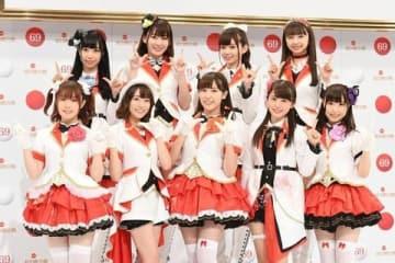 「第69回NHK紅白歌合戦」に出場することも話題のAqoursのメンバー
