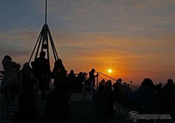 札幌市藻岩山(もいわやま)山頂天望台