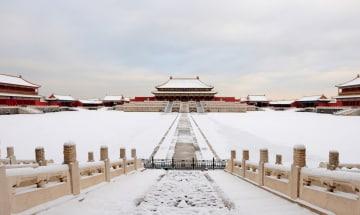冬の故宮博物院