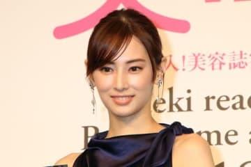 「美的ベストビューティウーマン」を受賞した北川景子さん