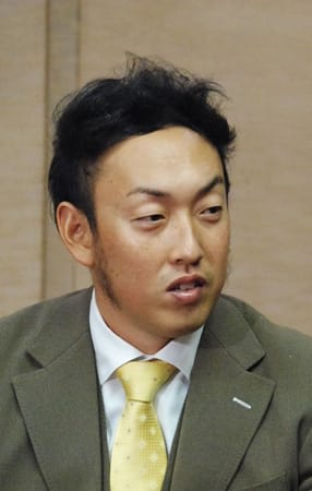 凱旋した京都で大リーグ1年目の活躍を振り返る平野投手