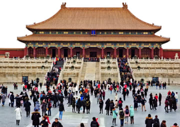 故宮博物院、年間来場者が初めて1700万人を突破