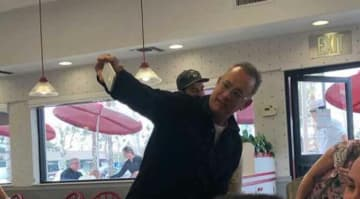 Tom Hanks Surprised Fans At In-N-Out Burger, Buys Them Lunch