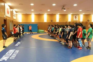 約50人の期待の高校女子選手が集まったNTS中央研修会