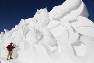 氷と雪の観光フェスティバルまもなく開幕 河北省豊寧満族自治県