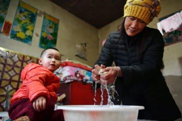 農村飲用水の安全性が向上 甘粛省荘浪県