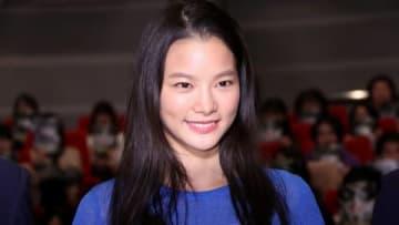 映画「コンフィデンスマンJP」のファンミーティングに登場した織田梨沙さん