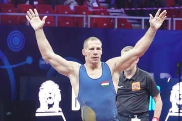 地元世界選手権で4年ぶりの世界一に輝いたピーター・バッチ(ハンガリー)