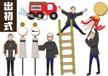 厚木市消防出初め式@荻野運動公園駐車場