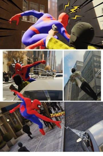"""『Marvel's Spider-Man』ファンがフォトモードでコミック制作!完成度は原作さながら""""アメイジング"""""""