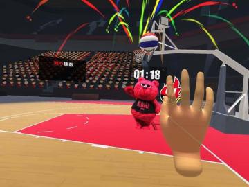 アルバルク東京、バスケットボールVRゲーム体験会を実施