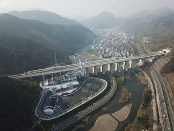 杭黄高速鉄道開通、安徽省黄山市