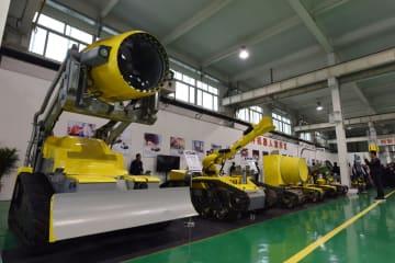 特殊ロボット、スマートで安全な作業を促進 河北省唐山市