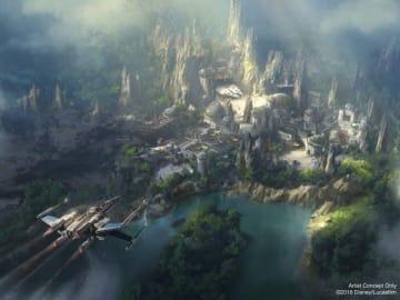 日本にも作ってほしい! -「スター・ウォーズ:ギャラクシーズ・エッジ」のイメージビジュアル - Disney Parks / Lucasfilm via Getty Images