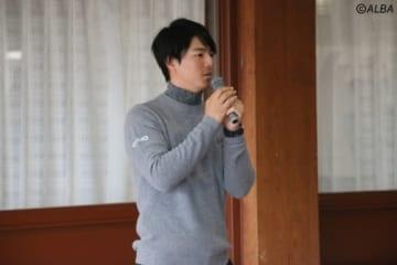 石川遼、ゴルフ場経営に見る未来とは?(撮影:ALBA)