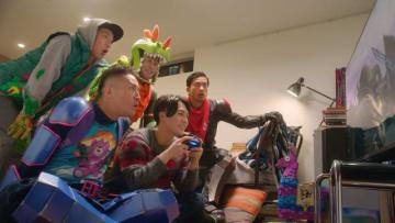 12月28日より放映!『フォートナイト』新TVCMに「TOKIO」の4人が続投―トマトヘッドの姿も!?