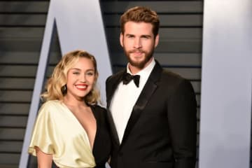 ご結婚おめでとうございます! -写真は2018年3月のマイリー・サイラスとリアム・ヘムズワース - Presley Ann / Patrick McMullan via Getty Images
