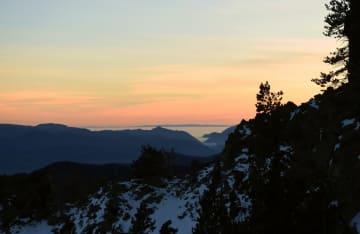 見渡す限りの大自然 ピレネー山脈を行く