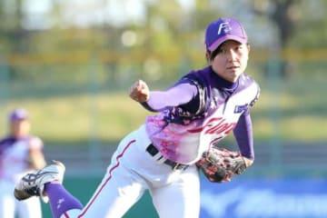 京都フローラ・小西美加【写真提供:日本女子プロ野球リーグ】