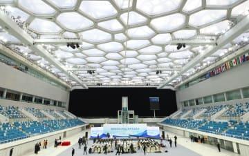 国家水泳センター改築工事がスタート 北京市