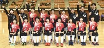福井県女子選抜=福井市体育館