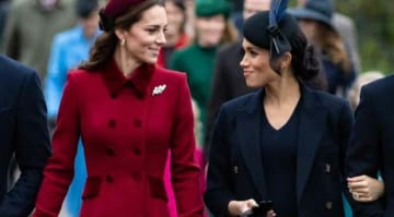 Kate Middleton & Megan Markle Look Stunning At Christmas Mass