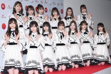 「第69回NHK紅白歌合戦」のリハーサルに登場した「乃木坂46」