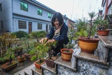 浙江省湖州市の農家、「美しい庭」で新年を迎える