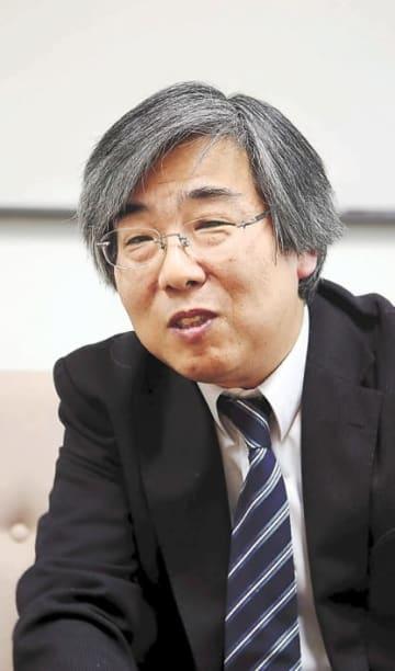東北大の基本方針を説明する長浜副理事