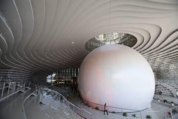 中国の「美しすぎる図書館」 天津浜海新区図書館