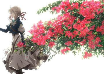 「ヴァイオレット・エヴァーガーデン」(C)暁佳奈・京都アニメーション/ヴァイオレット・エヴァーガーデン製作委員会