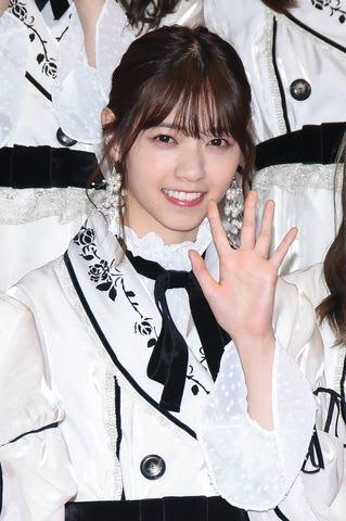 「第69回NHK紅白歌合戦」のリハーサルに登場した「乃木坂46」の西野七瀬さん
