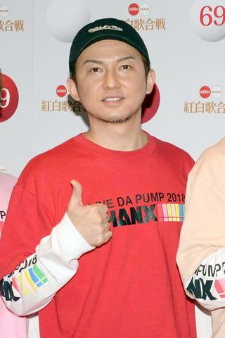 「第69回NHK紅白歌合戦」の1日目のリハーサルに登場した「DA PUMP」のISSAさん