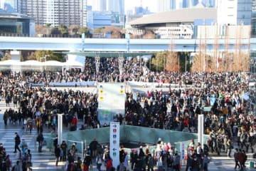 30日の2日目、約19万人が来場した「コミックマーケット95」
