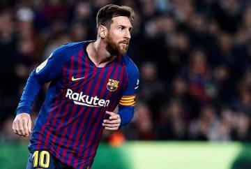 今季もバルセロナでゴールを量産するメッシ photo/Getty Images