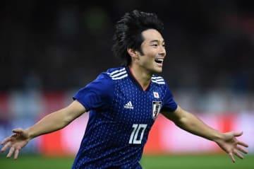 日本代表の中島翔哉 photo/Getty Images