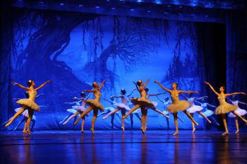マリインスキー·バレエ、「白鳥の湖」を披露 湖北省武漢市