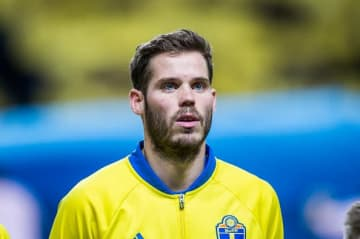 スウェーデン代表でもプレイしたサロモンソン photo/Getty Images