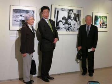 横田夫妻が講演 きょうから赤レンガ倉庫で写真展