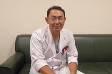 慶友整形外科病院・古島弘三医師【写真:佐藤直子】