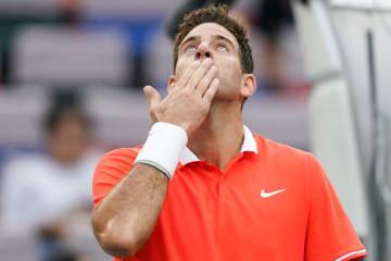 デル ポトロがツアー復帰初戦で白星。西岡をストレートで制し2回戦進出[ATP250 デルレイビーチ]